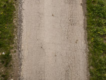 Γκρίζο ραγισμένο δρόμος asphalt_2 Στοκ φωτογραφία με δικαίωμα ελεύθερης χρήσης