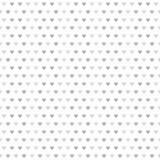 Γκρίζο ριγωτό σχέδιο καρδιών άνευ ραφής διάνυσμα ανασκό Στοκ Εικόνες