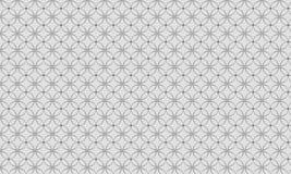 Γκρίζο σχέδιο λουλουδιών Στοκ Εικόνες
