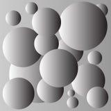 Γκρίζο σχέδιο υποβάθρου σφαιρών διανυσματική απεικόνιση