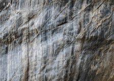 Γκρίζο σύσταση ή υπόβαθρο πετρών στον τοίχο Στοκ εικόνες με δικαίωμα ελεύθερης χρήσης