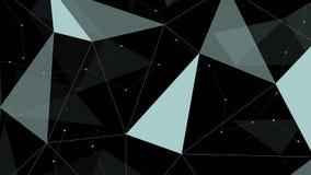 Γκρίζο τριγωνικό υπόβαθρο Στοκ φωτογραφία με δικαίωμα ελεύθερης χρήσης