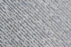 Γκρίζο τσιμεντένιο πάτωμα με τις διαγώνιες γραμμές Στοκ Φωτογραφίες