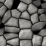 Γκρίζο υπόβαθρο απεικόνισης τουβλότοιχος άνευ ραφής - σχέδιο σύστασης για το συνεχές αντίγραφο Παλαιό γκρίζο υπόβαθρο τουβλότοιχο Στοκ Φωτογραφίες
