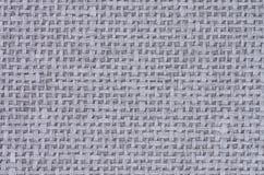 Γκρίζο υπόβαθρο καμβά Στοκ εικόνα με δικαίωμα ελεύθερης χρήσης