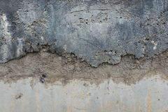 Γκρίζο υπόβαθρο σύστασης συμπαγών τοίχων παλαιό βρώμικο στοκ φωτογραφία με δικαίωμα ελεύθερης χρήσης