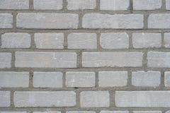 Γκρίζο υπόβαθρο σύστασης brickwall Στοκ εικόνες με δικαίωμα ελεύθερης χρήσης
