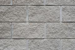 Γκρίζο υπόβαθρο σύστασης brickwall Στοκ Φωτογραφία