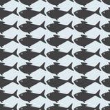 Γκρίζο υπόβαθρο ψαριών Στοκ Φωτογραφία