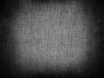 Γκρίζο υφαντικό υπόβαθρο καμβά Στοκ εικόνες με δικαίωμα ελεύθερης χρήσης