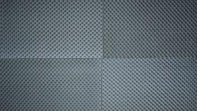 Γκρίζο χρώμα φύλλων απορροφητών ήχου Στοκ Εικόνες