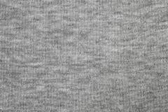 Γκρίζο ύφασμα της σύστασης πουκάμισων Στοκ φωτογραφία με δικαίωμα ελεύθερης χρήσης