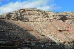 Γκρεμός φαραγγιών Verde - βόρεια Αριζόνα στοκ εικόνες