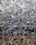 ΓΚΡΙΖΟ υπόβαθρο photomontage προσθηκών Στοκ φωτογραφία με δικαίωμα ελεύθερης χρήσης