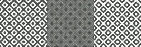 Γκριζόλευκο σχέδιο κυττάρων διανυσματική απεικόνιση