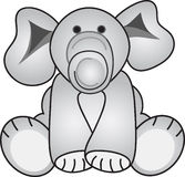 γκρι ελεφάντων Στοκ Εικόνες