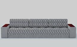 Γκρι καναπέδων - λευκό στοκ φωτογραφία με δικαίωμα ελεύθερης χρήσης
