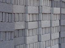 γκρι τούβλων ανασκόπησης Στοκ Φωτογραφία