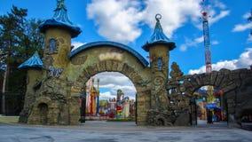 Γκόρκυ Central Park του πολιτισμού και του ελεύθερου χρόνου σε Kharkov timelapse, Ουκρανία φιλμ μικρού μήκους
