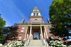 Γκλούτσεστερ Δημαρχείο, Μασαχουσέτη, ΗΠΑ Στοκ Εικόνες
