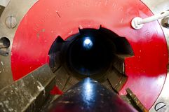 Γλουτός του πυροβόλου όπλου Hill του Oliver H1 - νησί Rottnest στοκ εικόνες