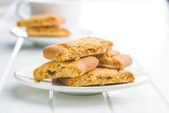 Γλυκά μπισκότα μήλων Στοκ φωτογραφία με δικαίωμα ελεύθερης χρήσης