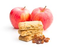 Γλυκά μπισκότα μήλων Στοκ Εικόνες