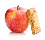 Γλυκά μπισκότα μήλων Στοκ Φωτογραφία