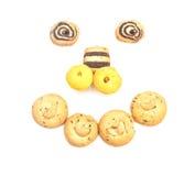 Γλυκά μπισκότα στοκ φωτογραφία με δικαίωμα ελεύθερης χρήσης