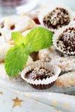 γλυκά μπισκότων Χριστου&gamm στοκ εικόνες με δικαίωμα ελεύθερης χρήσης