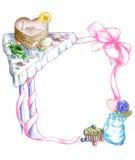 γλυκά πλαισίων διανυσματική απεικόνιση