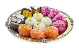 Γλυκά τρόφιμα μιγμάτων Στοκ φωτογραφία με δικαίωμα ελεύθερης χρήσης