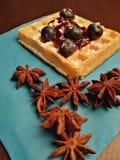 Γλυκά τρόφιμα πτώσης Στοκ φωτογραφία με δικαίωμα ελεύθερης χρήσης