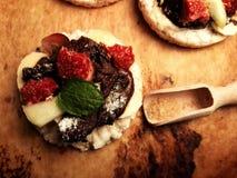 Γλυκά τρόφιμα πτώσης Στοκ Εικόνες