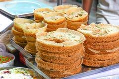 Γλυκά τρόφιμα Ghewar Στοκ εικόνες με δικαίωμα ελεύθερης χρήσης