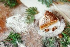 Γλυκά Χριστουγέννων, γλυκά Χριστουγέννων, κέικ, νέο έτος Στοκ Φωτογραφίες