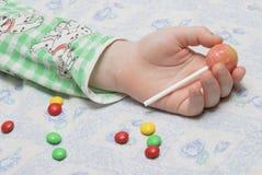 Γλυκά όνειρα της παιδικής ηλικίας Στοκ φωτογραφία με δικαίωμα ελεύθερης χρήσης