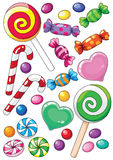 γλυκά απεικόνιση αποθεμάτων