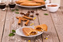 Γλυκές ζύμες ριπών Florentines στοκ φωτογραφία με δικαίωμα ελεύθερης χρήσης