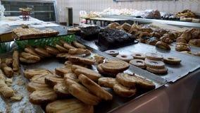 Γλυκές ζύμες σε μια morrocan αγορά στοκ εικόνα