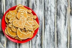 Γλυκές ζύμες Χριστουγέννων Στοκ Εικόνες
