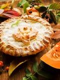 Γλυκιά πίτα κολοκύθας Στοκ φωτογραφία με δικαίωμα ελεύθερης χρήσης