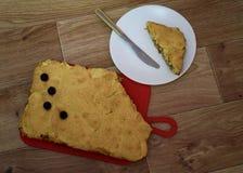 Γλυκιά πίτα μήλων με τα κεράσια στοκ φωτογραφία με δικαίωμα ελεύθερης χρήσης