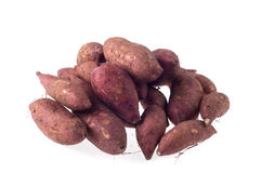 Γλυκιά πατάτα στην ανασκόπηση Στοκ φωτογραφία με δικαίωμα ελεύθερης χρήσης