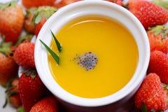 Γλυκιά σούπα Tranditiona στοκ εικόνες