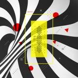 Γλυκιά σπείρα καλάμων καραμελών abstract background striped τρισδιάστατο διάνυσμα απ&e ελεύθερη απεικόνιση δικαιώματος