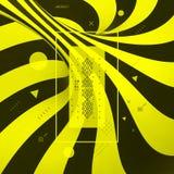 Γλυκιά σπείρα καλάμων καραμελών abstract background striped τρισδιάστατο διάνυσμα απ&e διανυσματική απεικόνιση