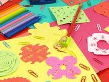 Γλυκιά χαρτί-αποκοπή στοκ εικόνες