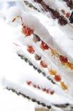 Γλυκός γλασαρισμένος καρπός της Κίνας Στοκ Φωτογραφία