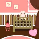 γλυκό δωματίων μωρών Στοκ Εικόνες